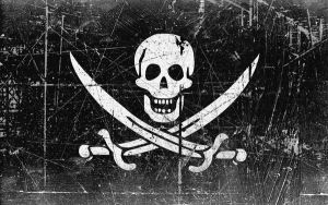 Hector Barbossa's Jolly Roger by MikePetrucci