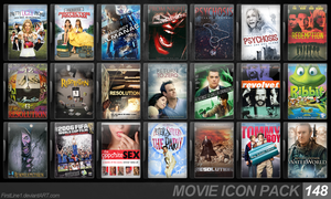 Movie Icon Pack 148 by FirstLine1