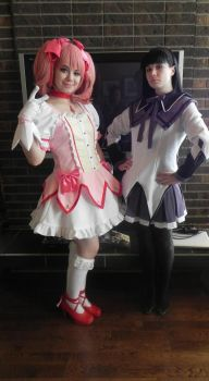 Madoka Magica Cosplay by Lilac-Lenalee