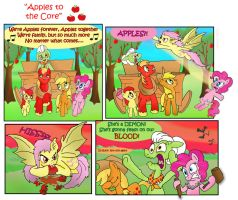 Apples to the Core by raggyrabbit94