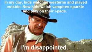 John Wayne is disappointed by ImaDoctor96