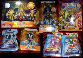 Sonic Collection .:Toys Part 3:. by VeggieMadness