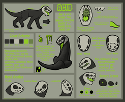 Acid Reference Sheet by Ink--It