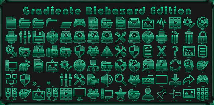 iPack Gradiente Biohazard Edition  by Agelyk by Agelyk