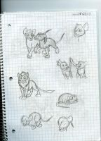A Rat into the Wild Sketchdump 11 by Dinoboy134