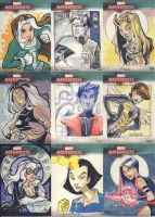 Marvel Masterpieces III Part 1 by kayjkay