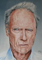 Clint Eastwood by agusgusart