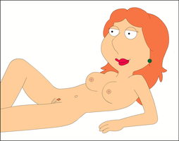 Lois Laying Down - Sexy Hair by xvqwertyvx