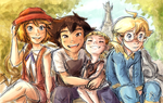 XY family by Rainmaker113
