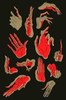 Hands by Asiulus