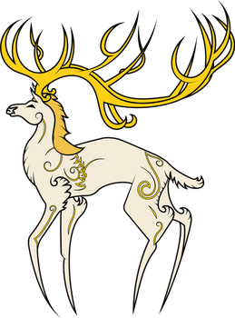 Stag by RainbowRage12