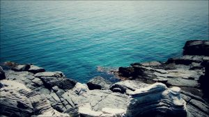 Turquoise blue by Hellenak