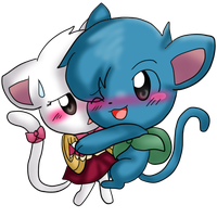 Let's hug, Charle! by SkyWarriorKirby