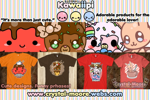 Kawaiipi: Cute and Funny Tees by Crystal-Moore