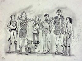 Original Fantasy Characters, Side A by MuseInOnlyColors