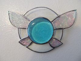 Navi Stained Glass Suncatcher by captivefancy