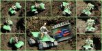 Lara Croft Quad Bike Papercraft by BRSpidey