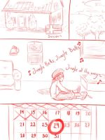 Hetalia - Christmas shopping 1 by Kumagorochan