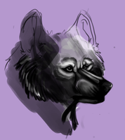 DAMN FUCKING AWESOME WOLF WIP by AvuchLee