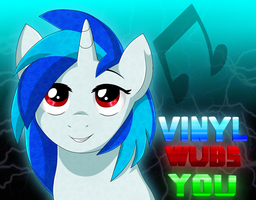 Vinyl wubs you. by yeagar