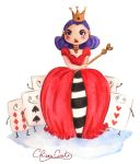Queen of Hearts by ChiaraCi