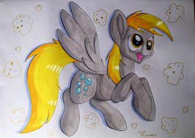 Derpy promarker by Mioumioune