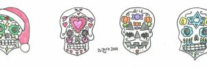 Sugar Skulls for Any Holiday by DrZoro