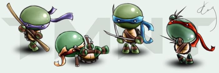 tmnt...? by luminoire