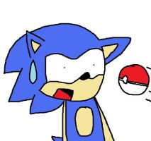 Sonic and The Pokeball by SapphireChao15