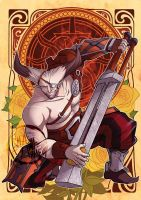 DAI - Decorative Heroes - The Iron Bull by aimo