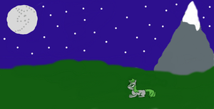Starry Night by VioletDragonian