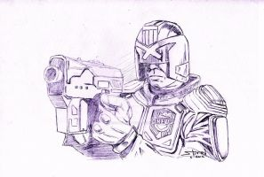 Judge Dredd by StevenWilcox