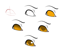 OH ITS AN EASY EYE STEP-BY-STEP by jaclynonacloud