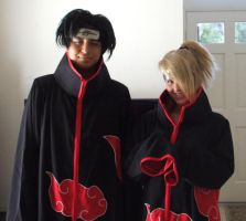 Deidara and Itachi by xXx-Rikku-xXx