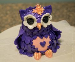 Owl Cake Topper by reenaj
