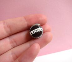 Hostess Cupcake Charm by LittleSweetDreams