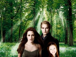 carlisle,bella and renesmee by Bleach-Fairy