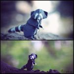 A Forest Bandit by FoldedWilderness