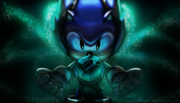 Sonic Found A Chaos Emerald! by ZekukN