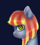 The whole life in her eyes. by Melon-Drop