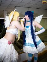 Panty and Stocking With Garterbelt by Paper-Cube