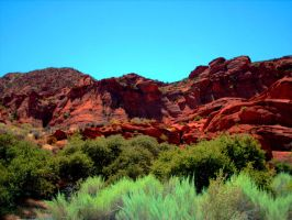 Red Cliffs by DanteSangreal