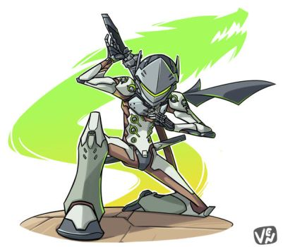 Genji by chikinrise