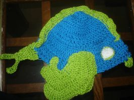 Fish hat from the side by mladymandi