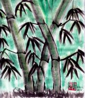 Bamboo by lennerose