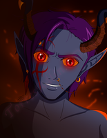 A Demon In Hell by TaCDLunaria91
