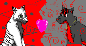 Iscribble with Jennidash by xXRedRidingHoodXx