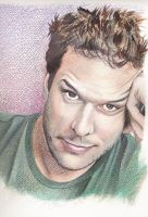 Dane Cook in Acrylic by WolfBlood223