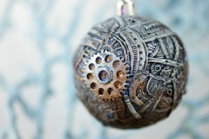 Steampunk Christmas ball by hontor