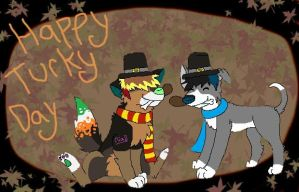 Happy Thanksgiving 2012 by huskynugget
